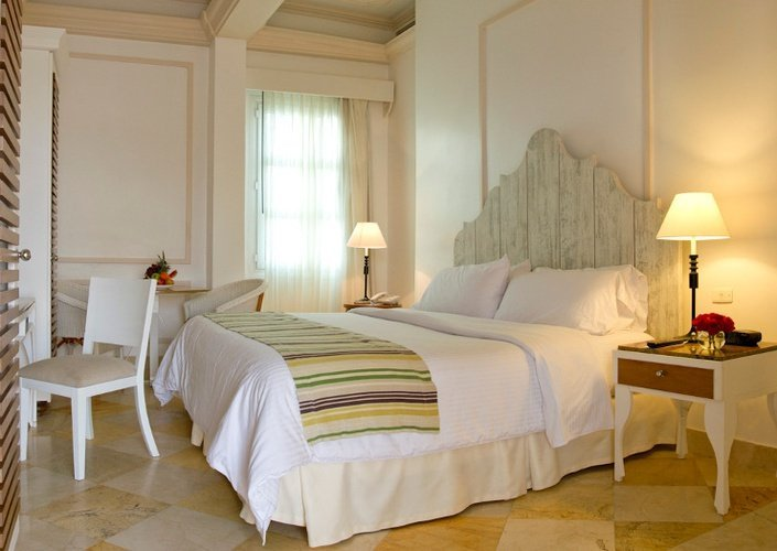 Deluxe room caribe by faranda grand hotel cartagena