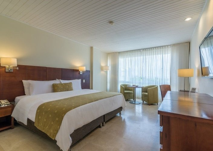 Superior room caribe by faranda grand hotel cartagena