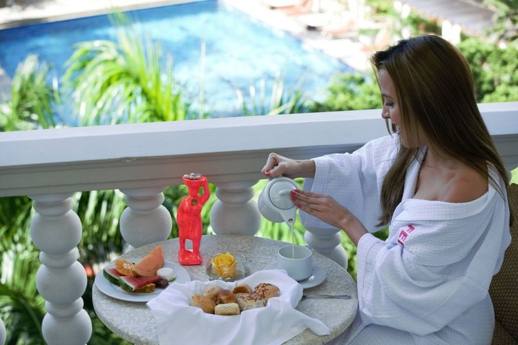 Breakfast caribe by faranda grand hotel cartagena