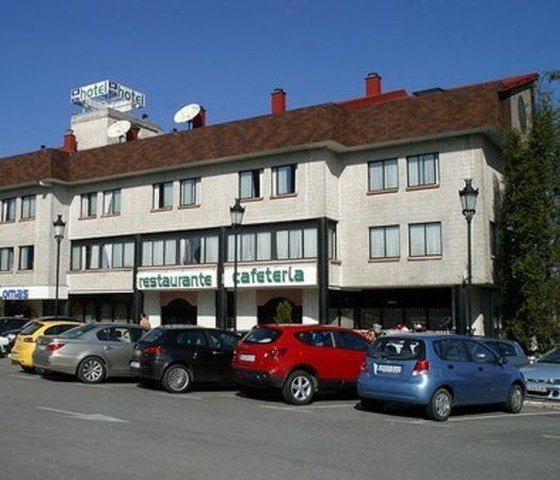 Parking city house las lomas hotel oviedo