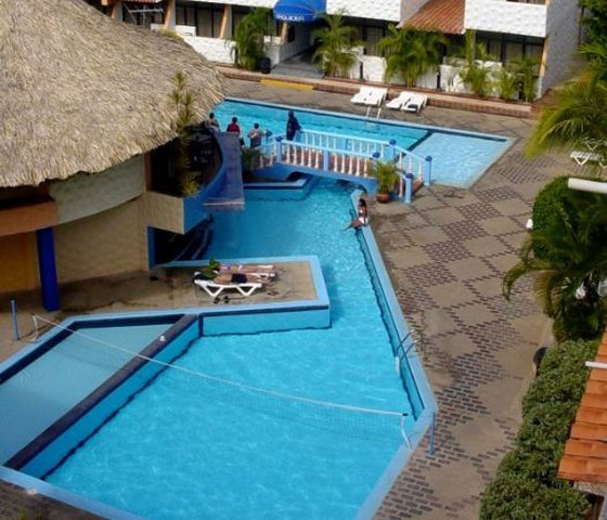 Outdoor swimming pools beach house puerta del sol playa el agua hotel isla margarita