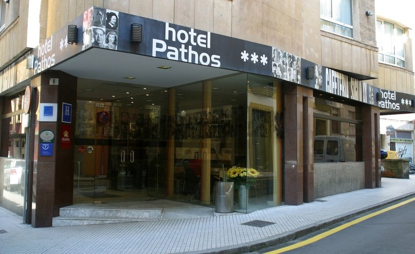 Facade city house pathos gijón hotel