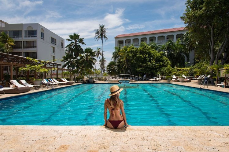 Swimming pool caribe by faranda grand hotel cartagena