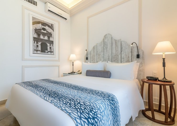 Classic deluxe room caribe by faranda grand hotel cartagena