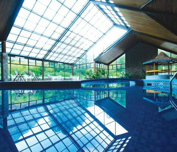 Heated indoor swimming pool bambito by faranda boutique hotel chiriqui