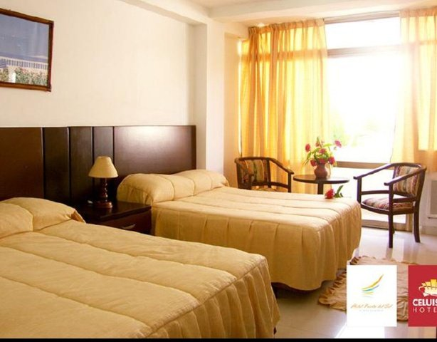 Quadruple rooms beach house puerta del sol playa el agua hotel isla margarita