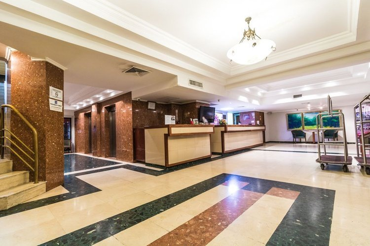 Reception hotel faranda express soloy & casino panama