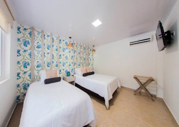 Superior double room isla bonita by faranda boutique hotel san andres