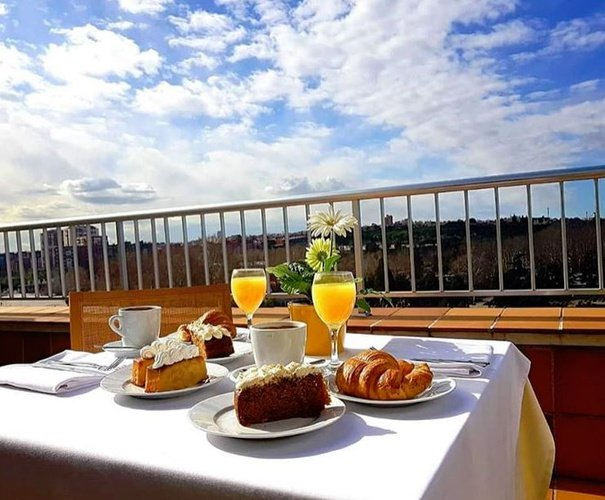 Breakfast hotel faranda florida norte madrid