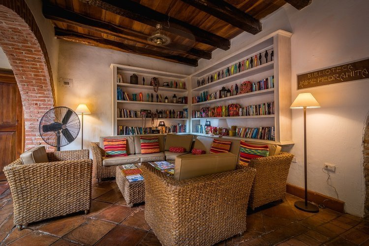 Library hotel bantú by faranda boutique cartagena