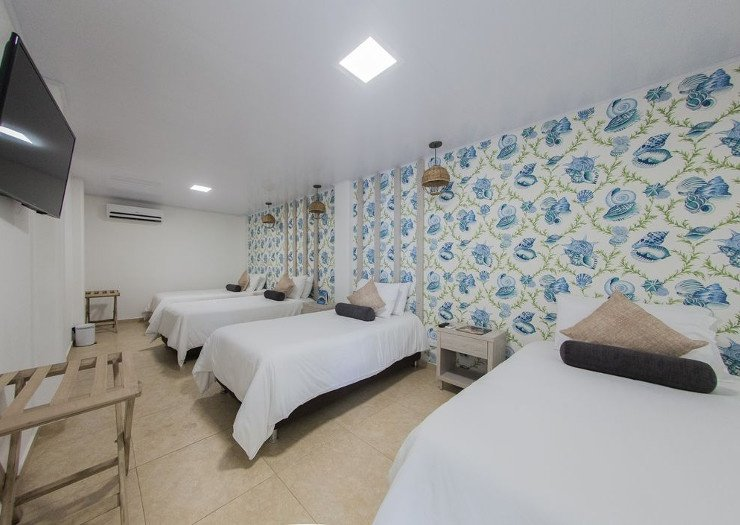 Superior room for 4 people isla bonita by faranda boutique hotel san andres