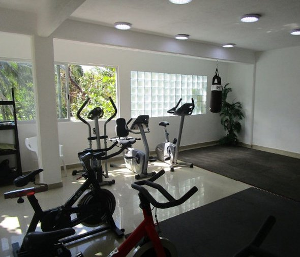 Gym hotel dos playas faranda cancún cancun