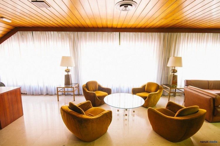 Living room hotel faranda florida norte madrid