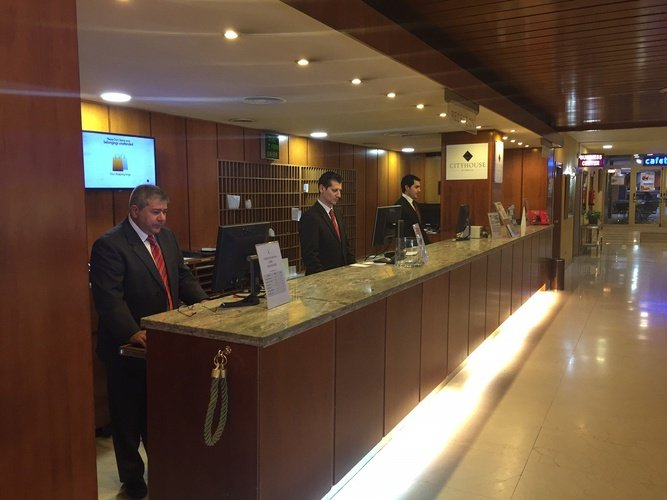 Reception hotel faranda florida norte madrid