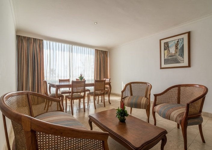 Suite caribe by faranda grand hotel cartagena