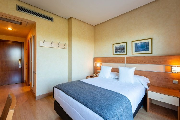 Single room hotel faranda florida norte madrid
